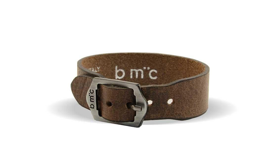 ROCK LEATHER CUFF - BMC
