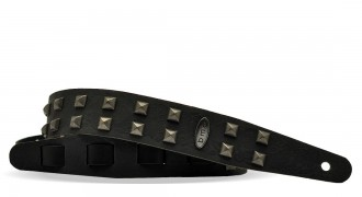 Leather Guitar belt with STUDS