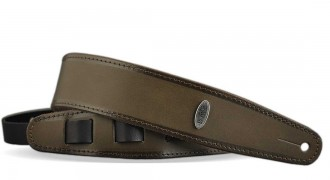 Leather Guitar strap- SHADED