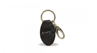 Leather Keychain with guitar pick